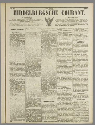 Middelburgsche Courant 1906-11-07