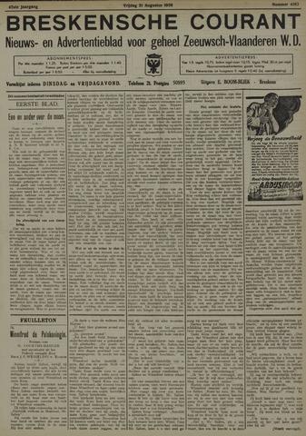 Breskensche Courant 1936-08-21