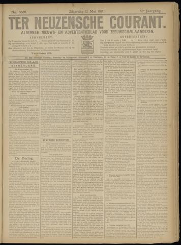 Ter Neuzensche Courant. Algemeen Nieuws- en Advertentieblad voor Zeeuwsch-Vlaanderen / Neuzensche Courant ... (idem) / (Algemeen) nieuws en advertentieblad voor Zeeuwsch-Vlaanderen 1917-05-12