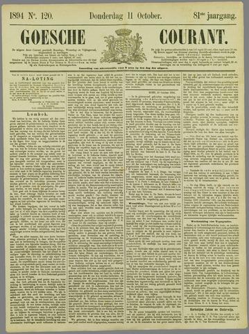 Goessche Courant 1894-10-11