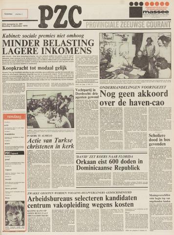 Provinciale Zeeuwse Courant 1979-09-03