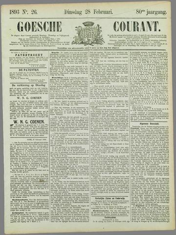 Goessche Courant 1893-02-28