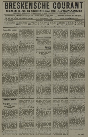 Breskensche Courant 1926-12-08