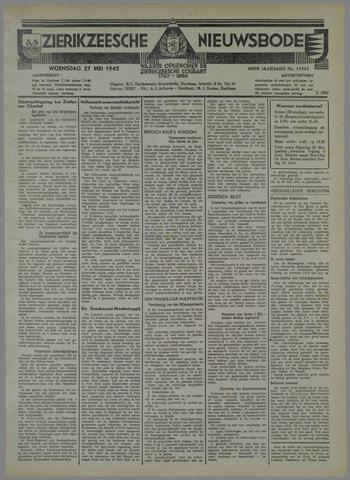 Zierikzeesche Nieuwsbode 1942-05-27