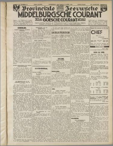 Middelburgsche Courant 1934-04-26
