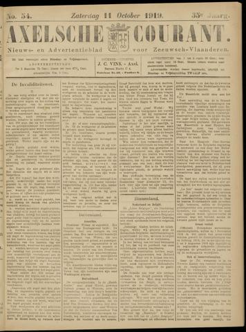 Axelsche Courant 1919-10-11