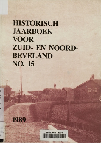 Historisch Jaarboek Zuid- en Noord-Beveland 1989-01-01