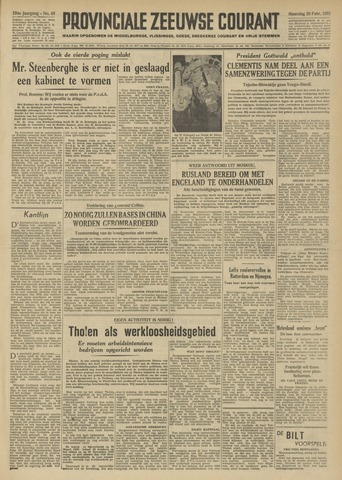 Provinciale Zeeuwse Courant 1951-02-26