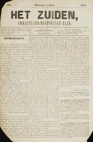 Het Zuiden, Christelijk-historisch blad 1877-04-07