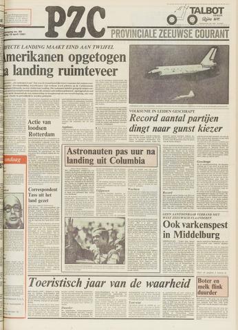 Provinciale Zeeuwse Courant 1981-04-15