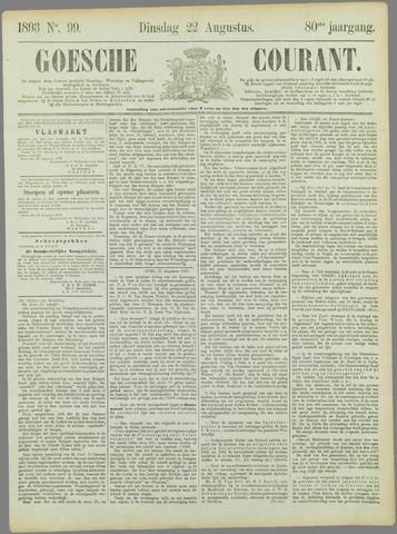 Goessche Courant 1893-08-22