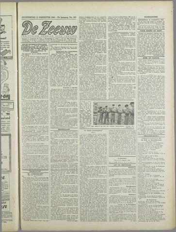 De Zeeuw. Christelijk-historisch nieuwsblad voor Zeeland 1943-08-12