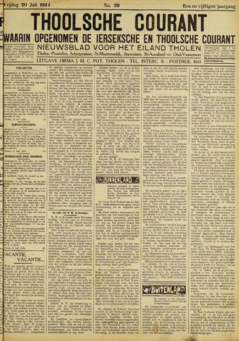 Ierseksche en Thoolsche Courant 1934-07-20