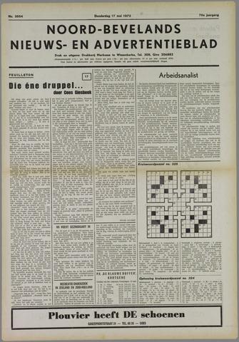 Noord-Bevelands Nieuws- en advertentieblad 1973-05-17