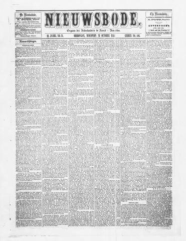 Sheboygan Nieuwsbode 1859-10-26