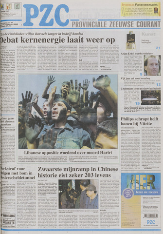 Provinciale Zeeuwse Courant 2005-02-16