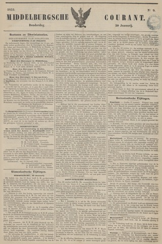 Middelburgsche Courant 1853-01-20