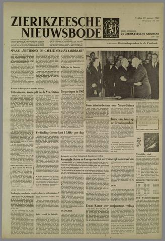 Zierikzeesche Nieuwsbode 1963-01-25