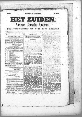 Nieuwe Goessche Courant 1880-11-30