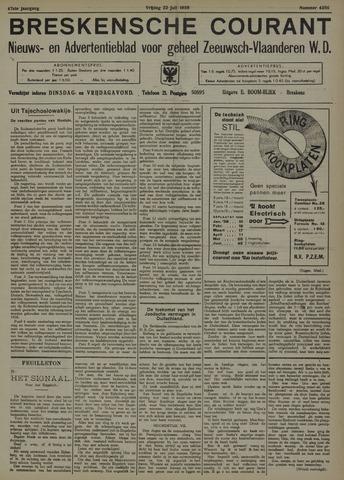 Breskensche Courant 1938-07-22