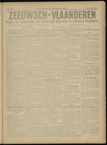 Luctor et Emergo. Antirevolutionair nieuws- en advertentieblad voor Zeeland / Zeeuwsch-Vlaanderen. Orgaan ter verspreiding van de christelijke beginselen in Zeeuwsch-Vlaanderen 1918-11-20