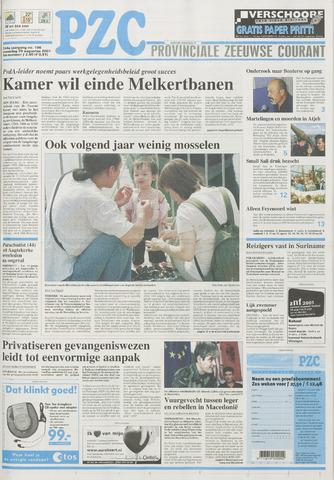 Provinciale Zeeuwse Courant 2001-08-20