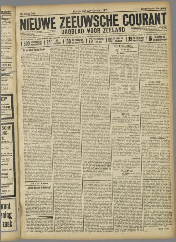 Nieuwe Zeeuwsche Courant 1921-10-20