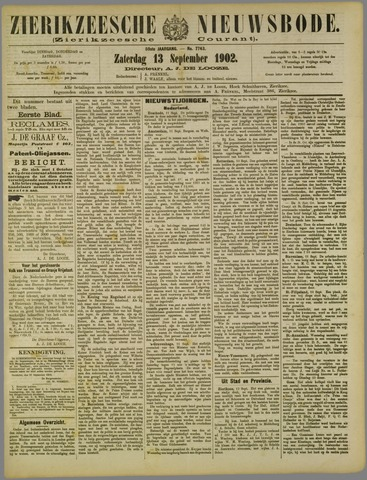 Zierikzeesche Nieuwsbode 1902-09-13
