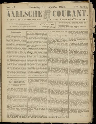 Axelsche Courant 1921-08-31