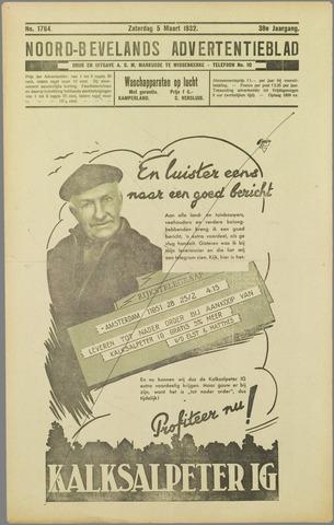 Noord-Bevelands Nieuws- en advertentieblad 1932-03-05