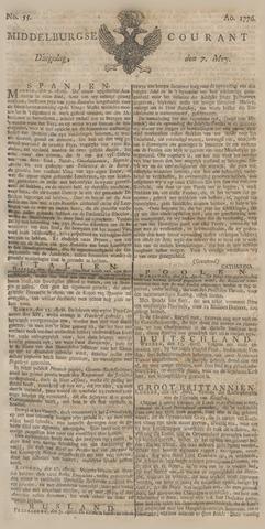 Middelburgsche Courant 1776-05-07