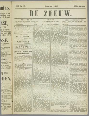 De Zeeuw. Christelijk-historisch nieuwsblad voor Zeeland 1891-05-28