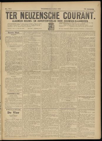 Ter Neuzensche Courant. Algemeen Nieuws- en Advertentieblad voor Zeeuwsch-Vlaanderen / Neuzensche Courant ... (idem) / (Algemeen) nieuws en advertentieblad voor Zeeuwsch-Vlaanderen 1933-07-05