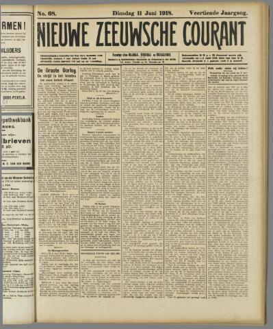 Nieuwe Zeeuwsche Courant 1918-06-11