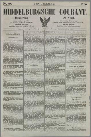 Middelburgsche Courant 1877-04-26