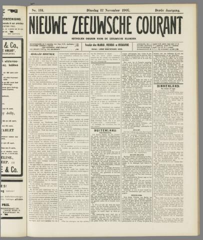 Nieuwe Zeeuwsche Courant 1907-11-12