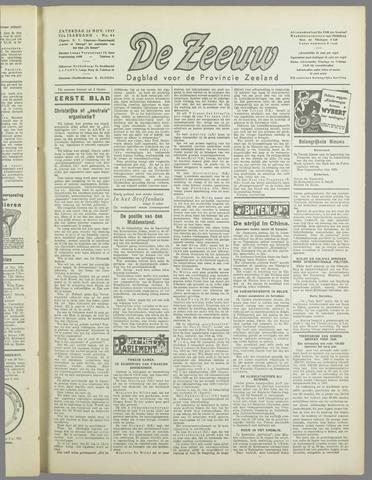 De Zeeuw. Christelijk-historisch nieuwsblad voor Zeeland 1937-11-20