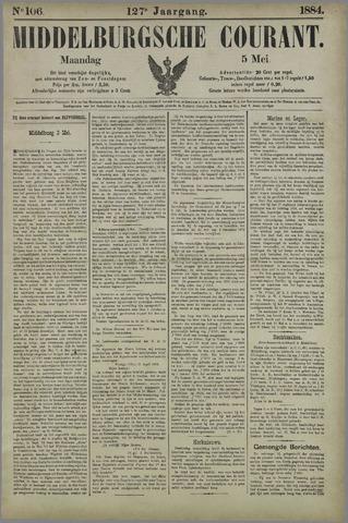 Middelburgsche Courant 1884-05-05