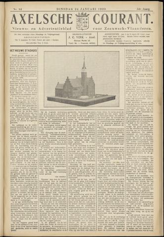Axelsche Courant 1939-01-24