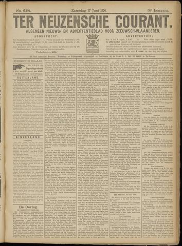 Ter Neuzensche Courant. Algemeen Nieuws- en Advertentieblad voor Zeeuwsch-Vlaanderen / Neuzensche Courant ... (idem) / (Algemeen) nieuws en advertentieblad voor Zeeuwsch-Vlaanderen 1916-06-17