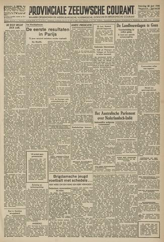 Provinciale Zeeuwse Courant 1946-06-22