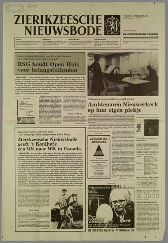 Zierikzeesche Nieuwsbode 1985-02-08