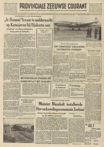 Provinciale Zeeuwse Courant 1953-10-10