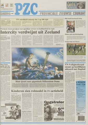 Provinciale Zeeuwse Courant 1998-02-25