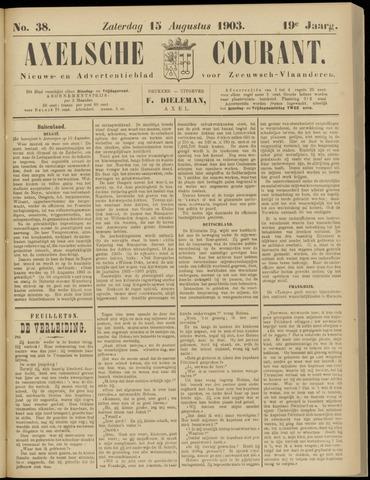 Axelsche Courant 1903-08-15