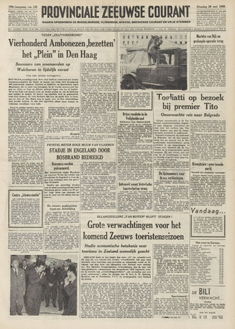 Provinciale Zeeuwse Courant 1956-05-29