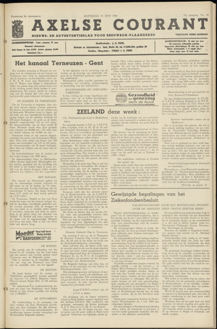 Axelsche Courant 1960-06-25