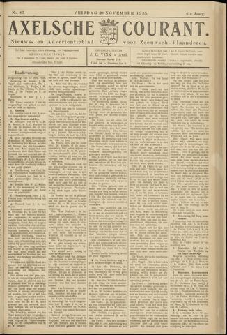 Axelsche Courant 1925-11-20