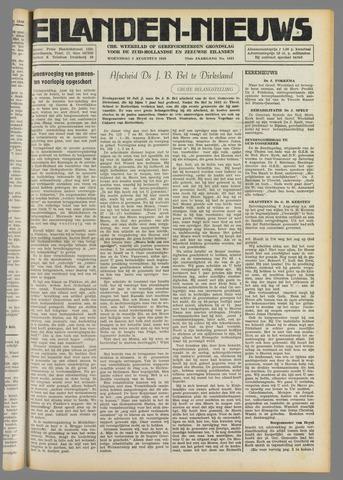 Eilanden-nieuws. Christelijk streekblad op gereformeerde grondslag 1949-08-03