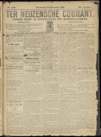 Ter Neuzensche Courant. Algemeen Nieuws- en Advertentieblad voor Zeeuwsch-Vlaanderen / Neuzensche Courant ... (idem) / (Algemeen) nieuws en advertentieblad voor Zeeuwsch-Vlaanderen 1920-12-30